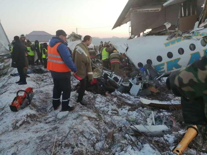 Bek Air plane crashes in Kazakhstan