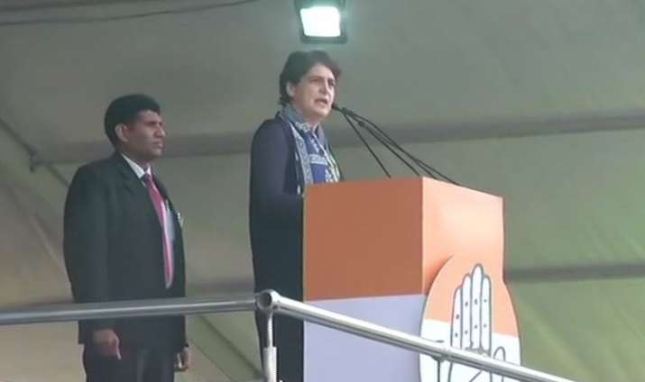 BJP has destroyed India's economy and GDP, says Priyanka Gandhi in 'Bharat Bachao' rally