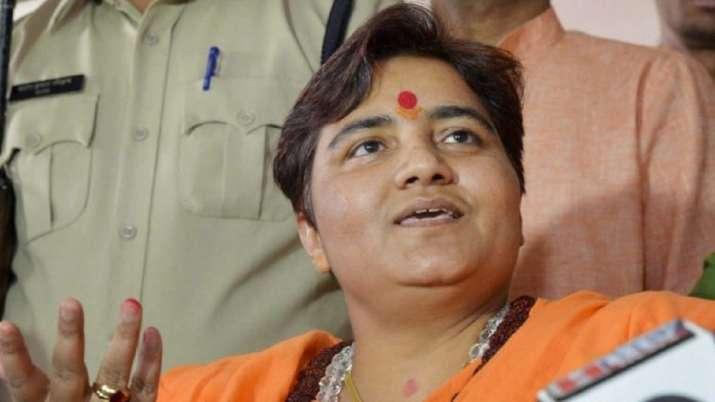 BJP MP Pragya Thakur demands FIR against Congress MLA over threat to burn her