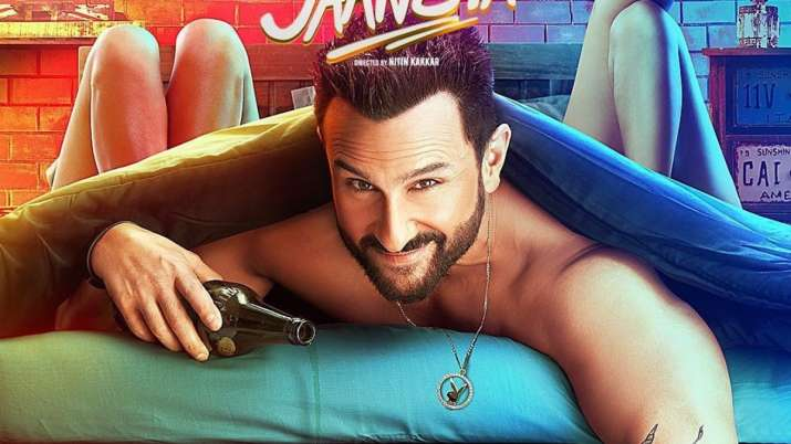 Saif Ali Khan's wicked smile in Jawaani Jaaneman's latest poster is sure to tug at your heartstrings