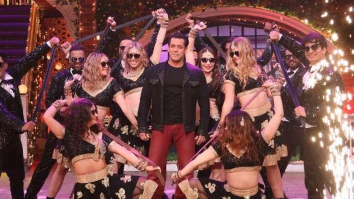 Dabangg 3 stars Salman, Prabhueva, Saiee and Sonakshi's unlimited fun on The Kapil Sharma Show