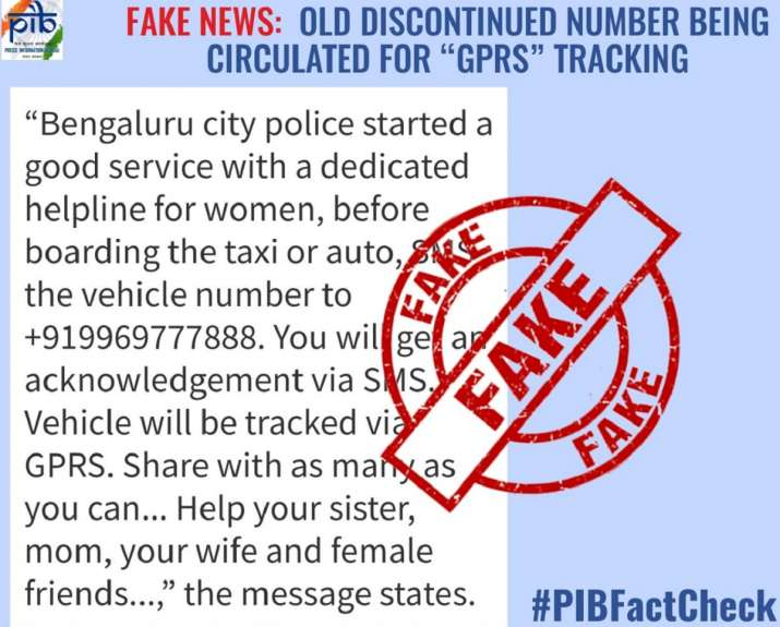 Fact Check: Ladies, don't send your travel details on this