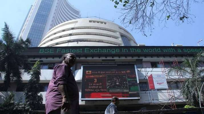 Sensex falls 65 points on global trade worries