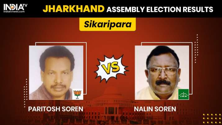 Shikaripara Constituency Result: JMM's Nalin Soren wins by
