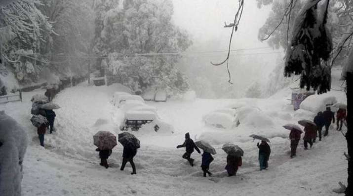 Snowfall forecast for next week in Himachal Pradesh