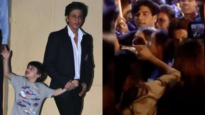 Shah Rukh Khan and son AbRam's dance video from school's annual day is the best thing on internet to