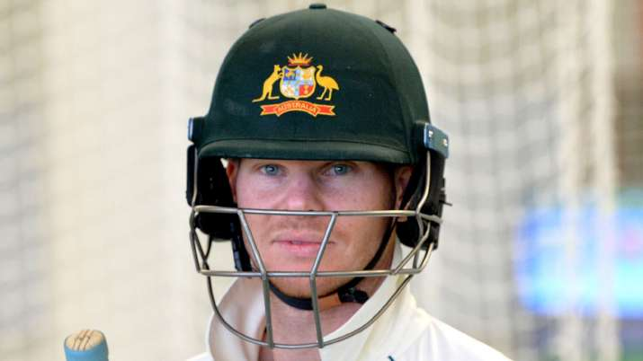 Steve Smith bats for Boxing Day Test against New Zealand at MCG