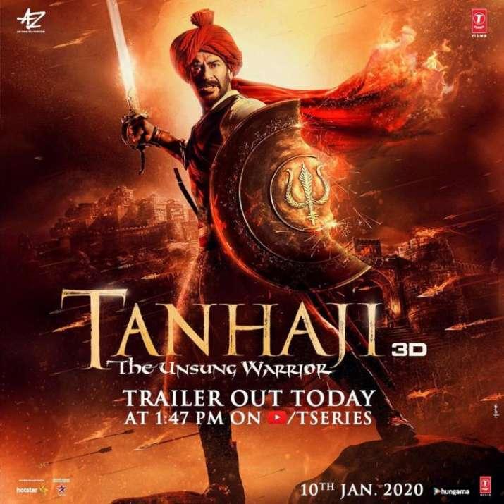 India Tv - Tanhaji: The Unsung Warrior