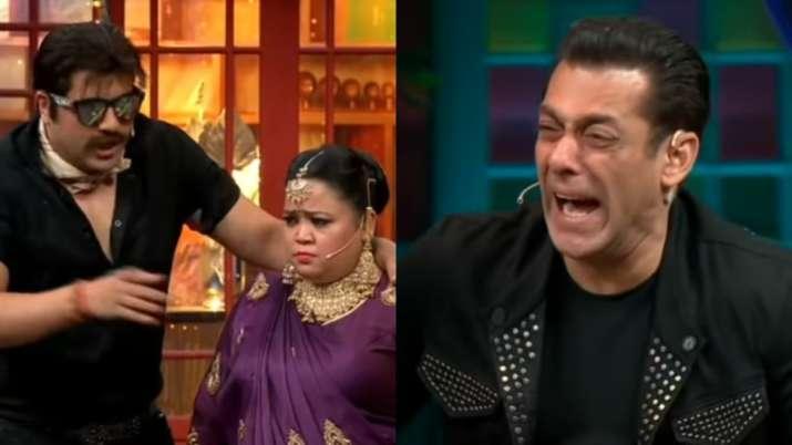 Krushna Abhishek calls Bharti Singh 'ubli hui Madhuri' and leaves Salman Khan ROFL on The Kapil Shar