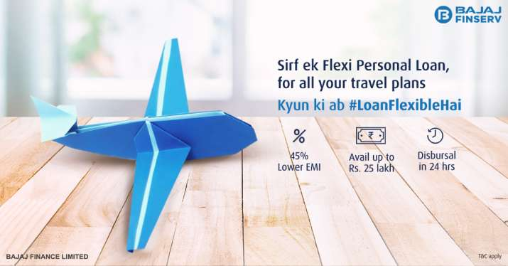 Fulfil your wanderlust dreams with a Flexi Personal Loan