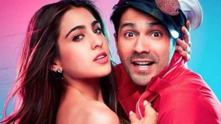 Sara Ali Khan cracks knock-knock joke with Coolie No. 1 co-star Varun Dhawan
