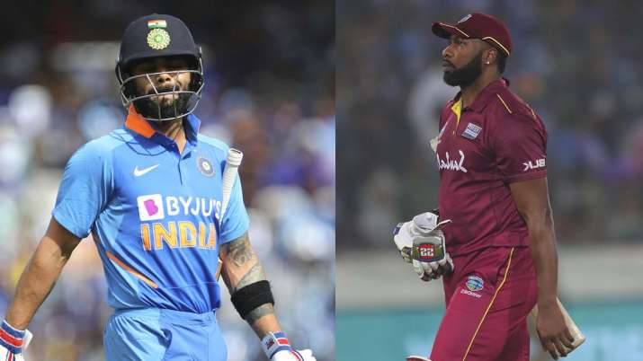 India vs West Indies: Both captains out on golden duck for first time in ODI history