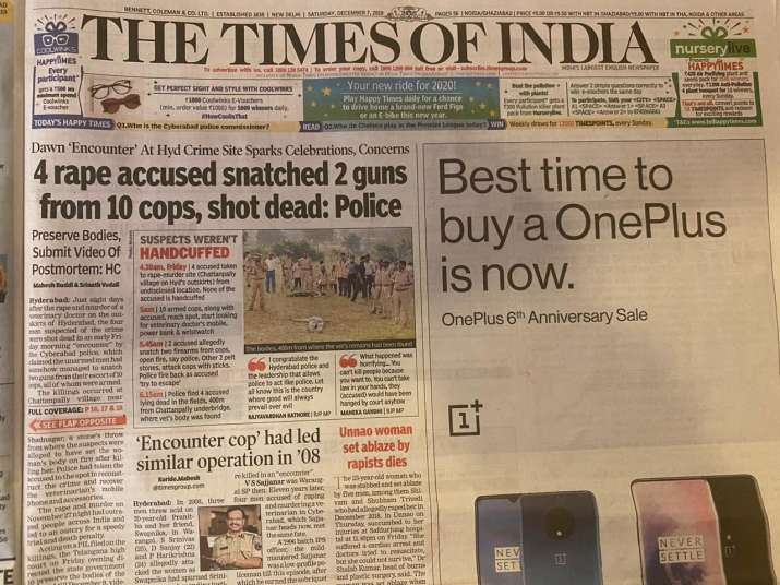 India Tv - The Times of India