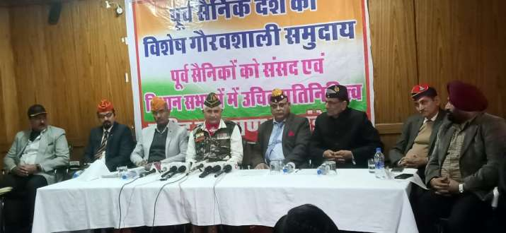 India Tv - Ahead of Delhi Assembly polls, veterans of armed forces demand reservation