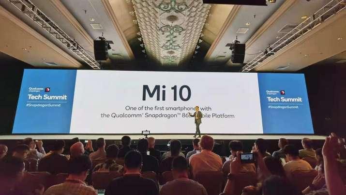 xiaomi, mi 10, snapdragon 865, qualcomm, flagship processor, flagship smartphones, Xiaomi mi 10 laun