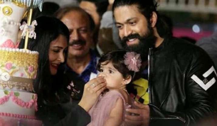KGF Star Yash Latest News: KGF star Yash throws lavish bash on daughter Ayra's 1st birthday. Inside