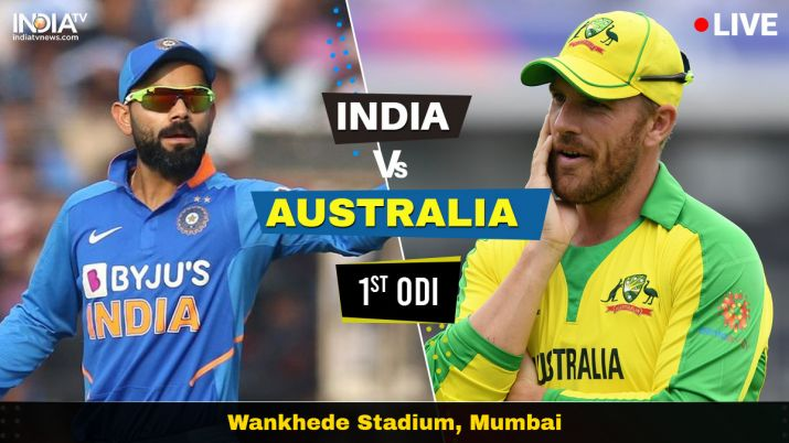 Live Streaming Cricket India Vs Australia 1st Odi Watch Ind Vs Aus Live Cricket Match Online On Hotstar Cricket News India Tv