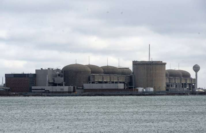 India Tv - The Pickering Nuclear Generating Station, in Pickering, Ontario is seen Sunday, Jan. 12, 2020. An al