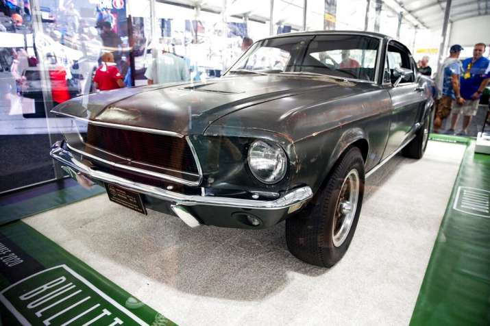 teve McQueen-driven 1968 Ford Mustang sets auction record $3.74 M