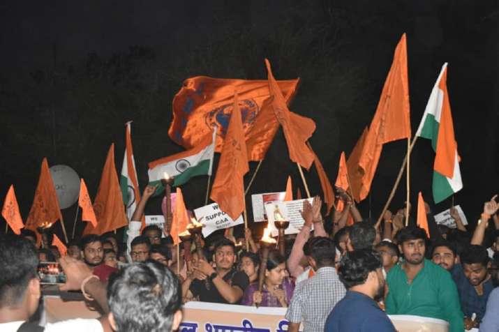 An ABVP rally (representative image)