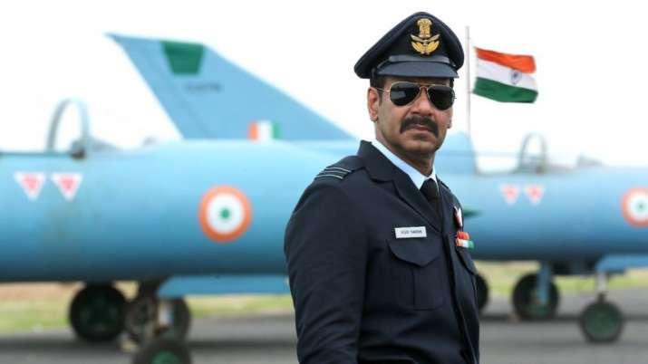 Ajay Devgn looks impressive as IAF pilot Sq Ld Vijay Karnik in Bhuj The Pride of India first look