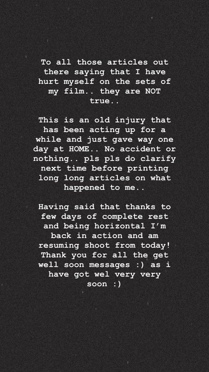 India Tv - Alia Bhatt clarifies rumours of getting hurt on Gangubai Kathiawadi sets