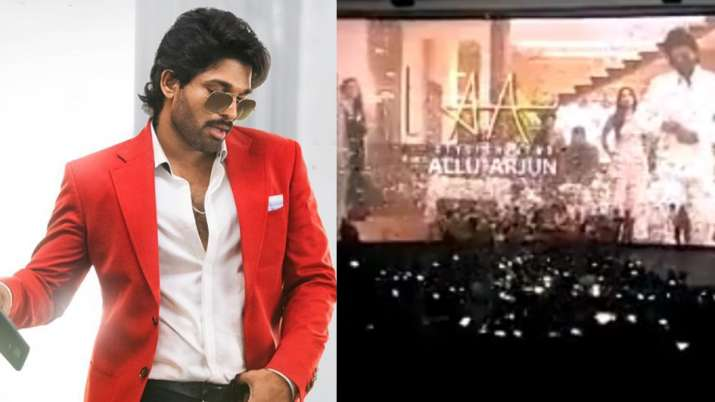 Allu Arjun's fans reacts crazily in theatre while watching Ala Vaikunthapurramuloo. Watch video