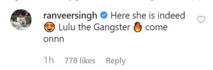 India Tv - Ranveer's reaction