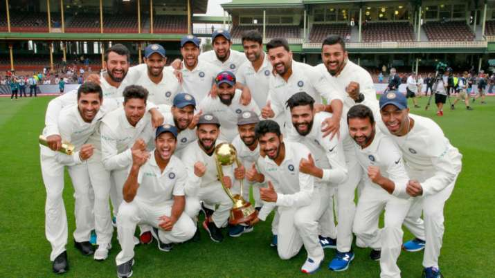 On This Day India Became The First Asian Team To Win Test Series Down Under Cricket News India Tv