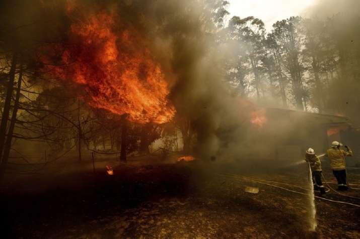 India Tv - Australian bushfire