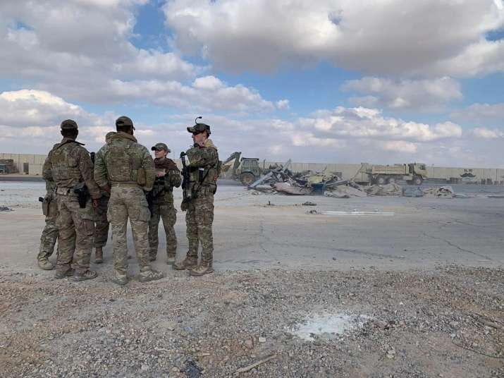 Baghdad missile attack