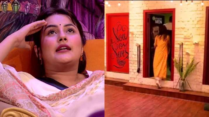Bigg Boss 13 Promo: Ex-lovers Shefali Jariwala, Sidharth Shukla lock themselves in bathroom to tease