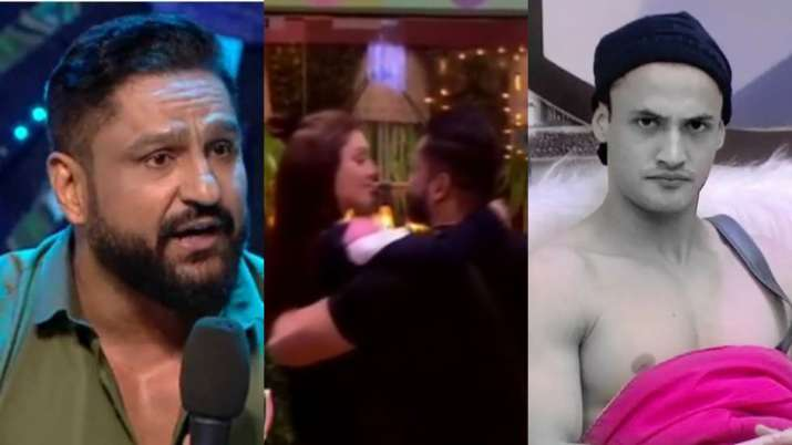 Bigg Boss 13: Kanta Laga fame Shefali Jariwala's husband Parag lashes out at Asim for misbehaving wi