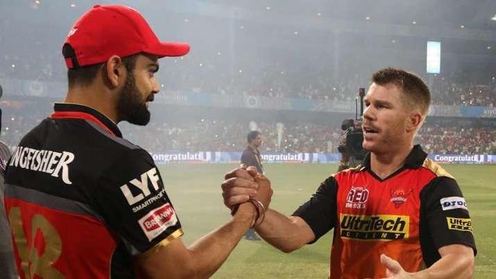 David Warner and Virat Kohli