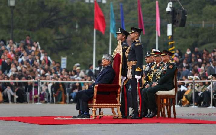 India Tv - Beating Retreat Ceremony