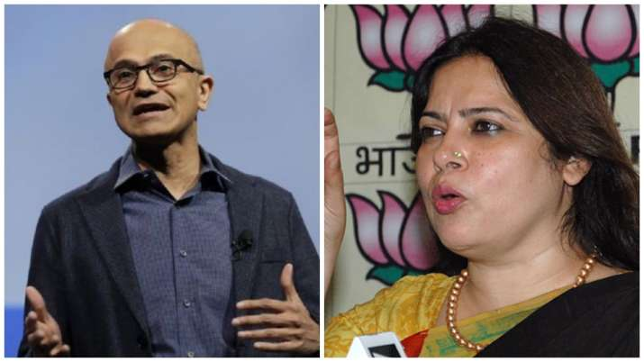 Meenakshi Lekhi hits out at Satya Nadella, says 'literate