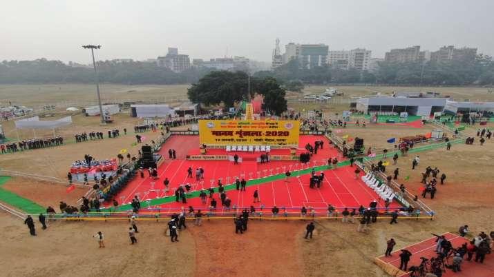 Bihar, human chain, Nitish Kumar, Sushil Modi, awareness campaign