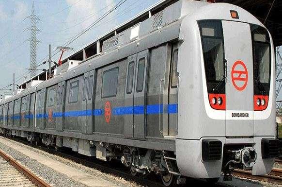 Delay in Delhi Metro's blue line due to passenger on track