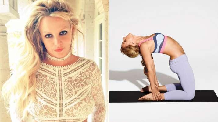 Britney Spears Yoga