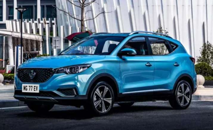 India Tv - MG ZS Electric SUV