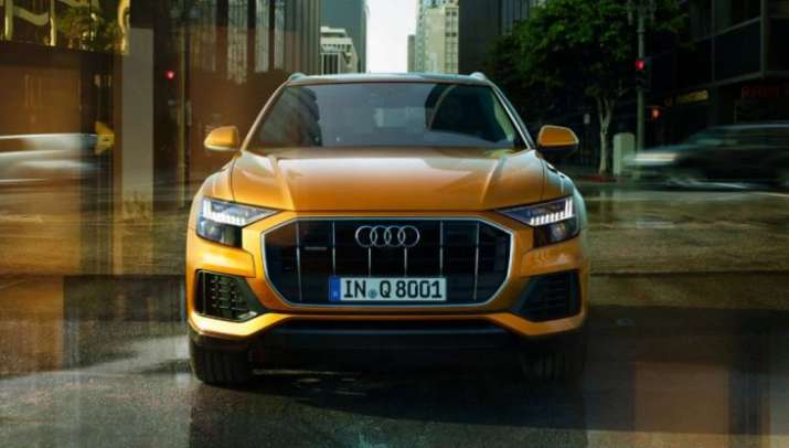Audi launches crossover SUV Q8 in India, priced at ₹ 1.33
