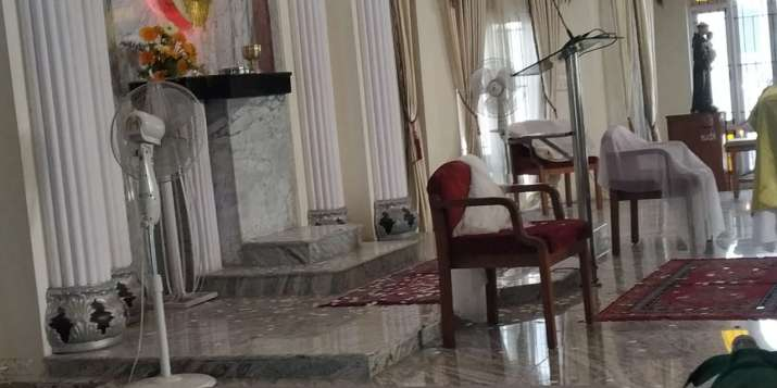 India Tv - Church attacked in Bengaluru, St Francis of Assisi, Bengaluru church attack news photos