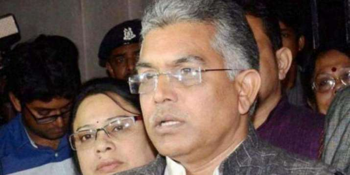 Committed to NRC, will send back 1 crore illegal Bangladeshis living in Bengal, says Dilip Ghosh
