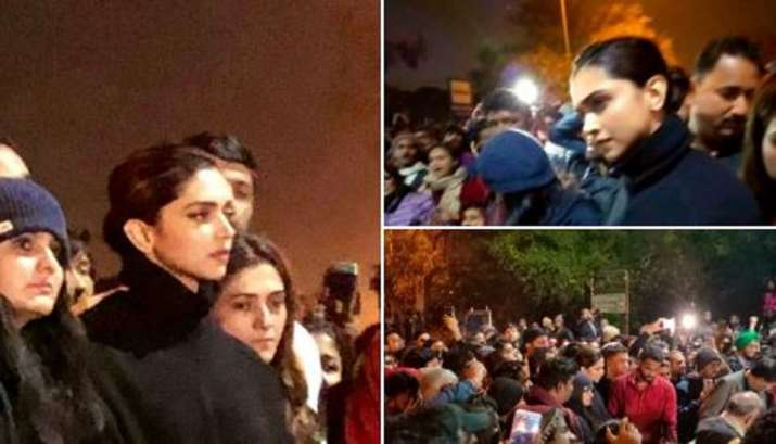 Image result for deepika padukone JNU protest