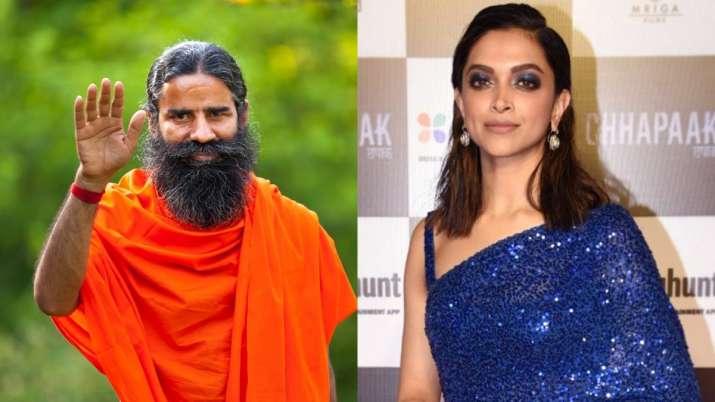 Ramdev reacts to Deepika Padukone's JNU row