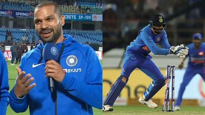 Shikhar Dhawan impressed with KL Rahul's wicketkeeping