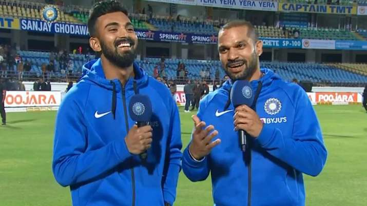 Shikhar Dhawan and KL Rahul on Chahal TV