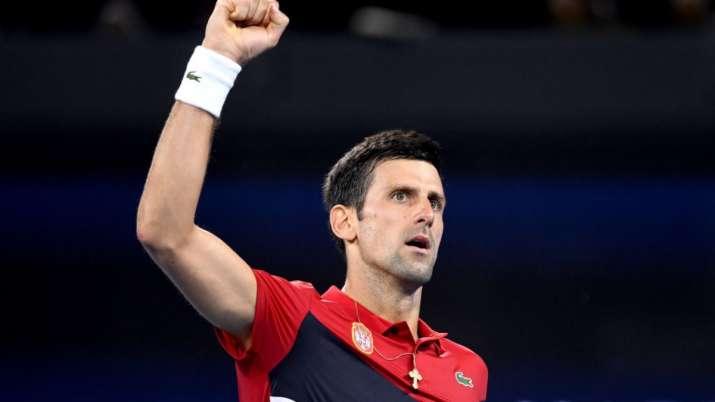 File image of Novak Djokovic