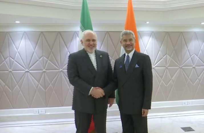External Affairs Minister Jaishankar holds talks with his Iranian counterpart Javad Zarif