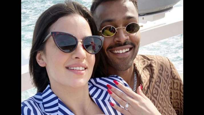 Hardik Pandya Announces Engagement With Natasa Stankovic Shares First Pictures Cricket News India Tv